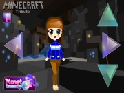 Minecraft Diamond Jackpot Dress Up