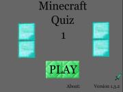 Minecraft Quiz 1